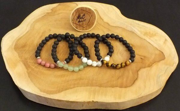Bracelet zodiaque minéraux et cristaux