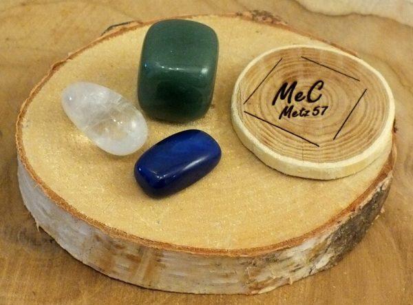Pochette bonheur minéraux et cristaux