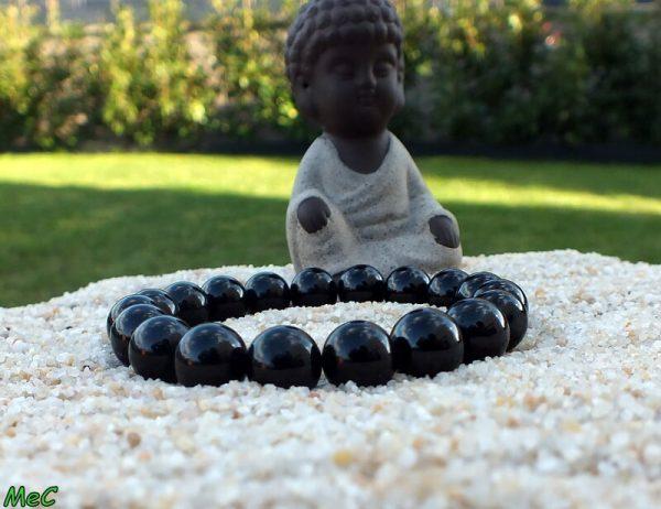 Bracelet tourmaline noire 10mm mineraux et cristaux