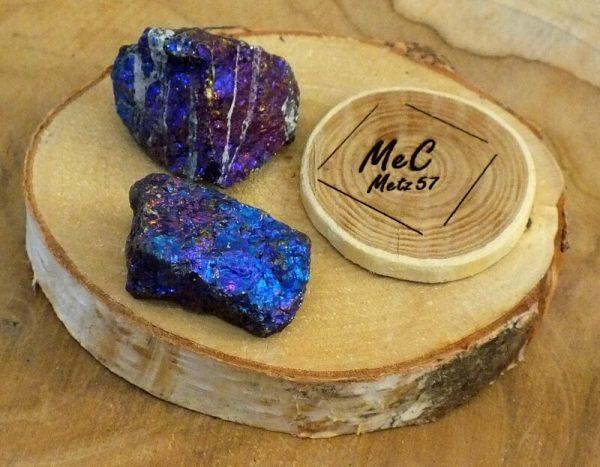 Chalcopyrite pierre brute minéraux et cristaux