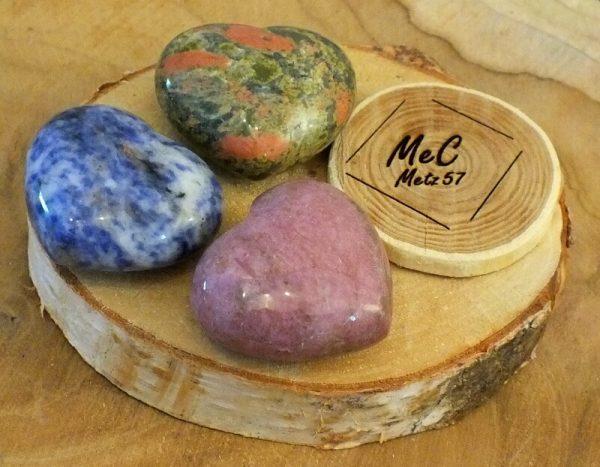 Coeur pierre naturelleminéraux et cristaux
