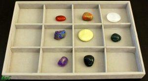 Ranger les cristaux et bijoux en pierres naturelles