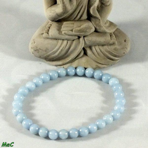 Bracelet angélite mineraux et cristaux