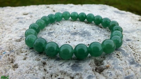 Bracelet aventurine verte mineraux et cristaux