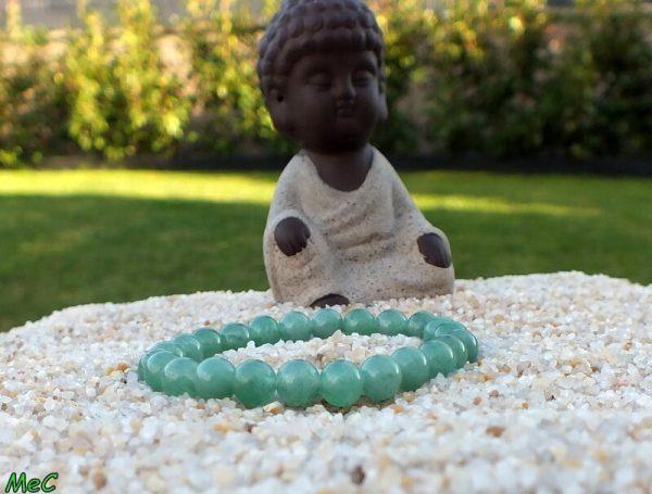 Bracelet aventurine verte enfant mineraux et cristaux
