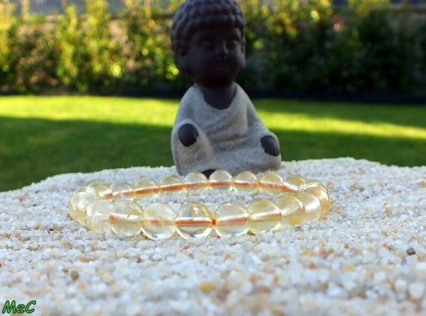 Bracelet citrine mineraux et cristaux