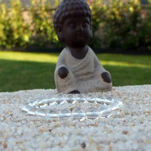 Bracelet cristal de roche enfant mineraux et cristaux