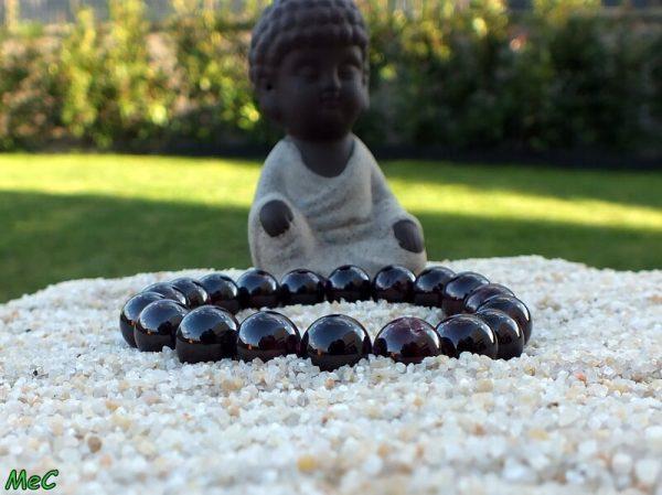 Bracelet grenat almandin mineraux et cristaux