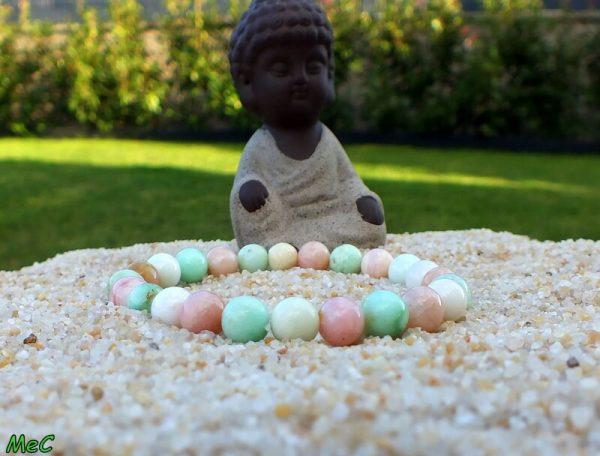 Bracelet opale et chrysoprase mineraux et cristaux