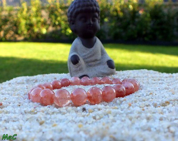 Bracelet pierre de soleil mineraux et cristaux