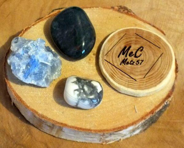 Pochette sommeil mineraux et cristaux
