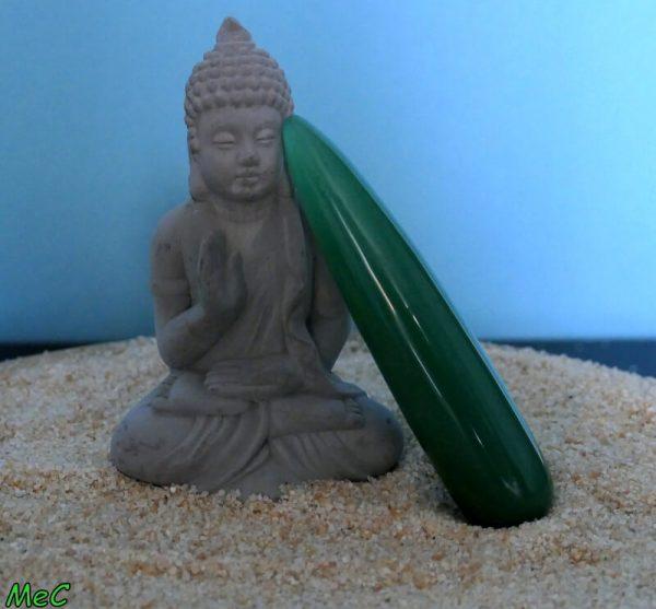 Bâton de massage aventurine verte minéraux et cristaux