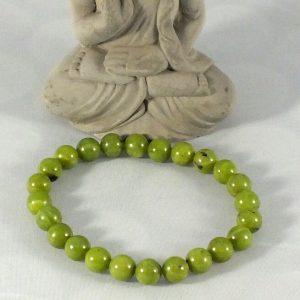 Bracelet jade canadien mineraux et cristaux