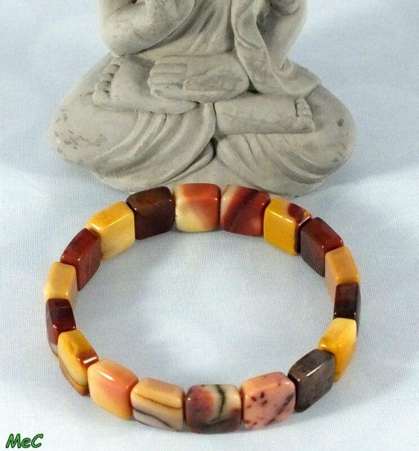 Bracelet manchette mookaite mineraux et cristaux