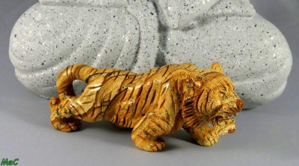 Tigre jaspe paysage minéraux et cristaux