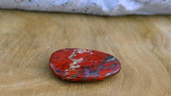 Jaspe pop galet minéraux et cristaux