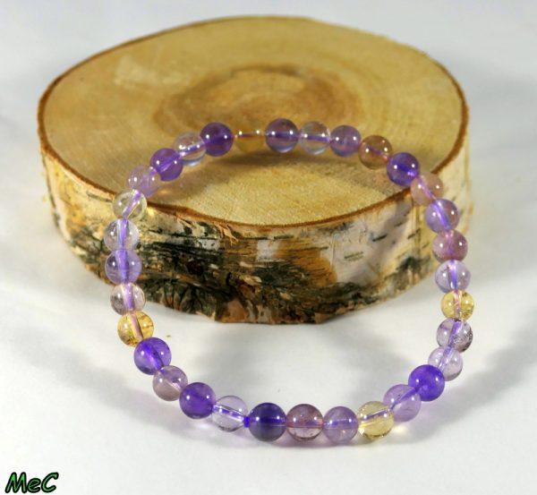 Bracelet amétrine Minéraux et Cristaux
