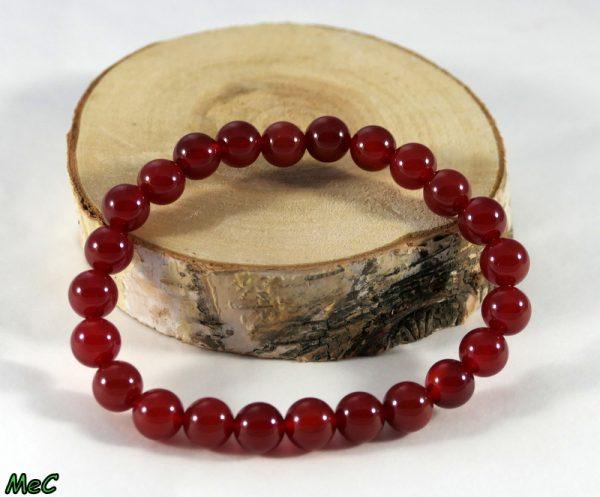 Bracelet aventurine rouge Minéraux et Cristaux