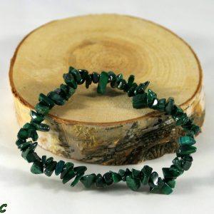 Bracelet malachite baroque Minéraux et Cristaux