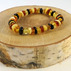 Bracelet ambre baby Minéraux et Cristaux