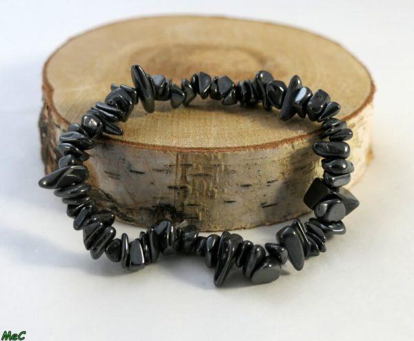Bracelet baroque hématite Minéraux et Cristaux