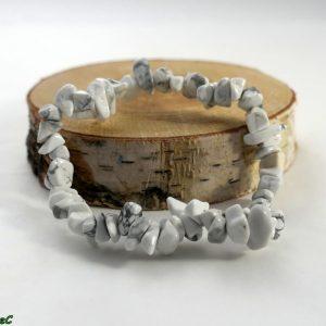 Bracelet baroque howlite Minéraux et Cristaux