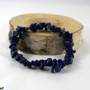 Bracelet baroque lapis lazuli Minéraux et Cristaux