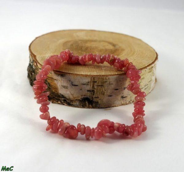 Bracelet baroque rhodocrosite Minéraux et Cristaux