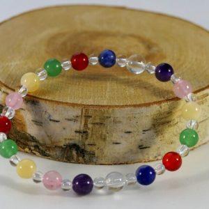 Bracelet chakras Minéraux et Cristaux