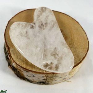 Gua Sha cristal de roche minéraux et Cristaux