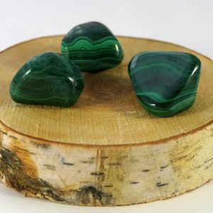 Malachite pierre roulée Minéraux et Cristaux