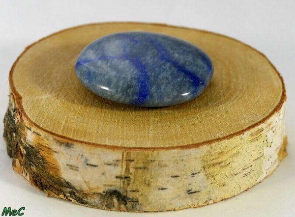 Quartz bleu galet Minéraux et Cristaux