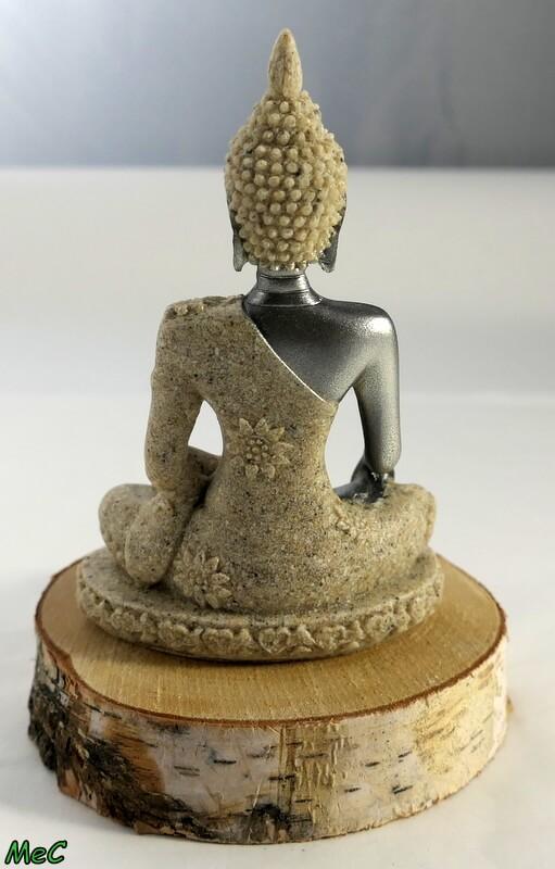 Statuette Bouddha résine de sable Minéraux et Cristaux 1