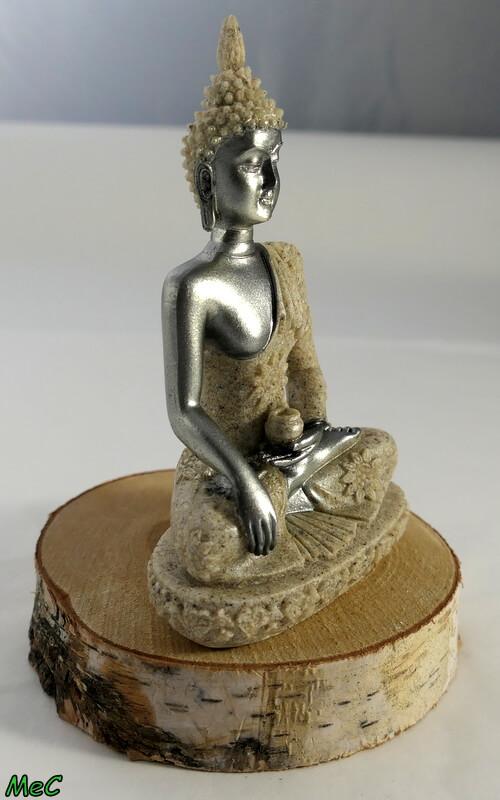 Statuette Bouddha résine de sable Minéraux et Cristaux 2