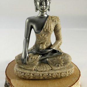 Statuette Bouddha résine de sable Minéraux et Cristaux