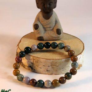 Bracelet jaspe océan Minéraux et Cristaux