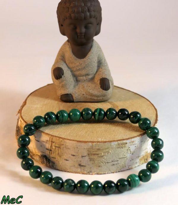 Bracelet malachite Minéraux et Cristaux